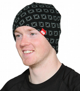 Oxford Beanie logo black/grey OX137